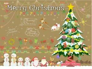 子供へ贈るクリスマスカードのメッセージの例文は