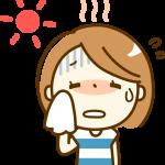 夏バテの症状で胃痛や下痢の原因は? ムカムカ!?