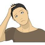 頭皮のフケで大きいかたまりが出る原因は?