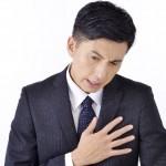 胸の真ん中に痛みや圧迫感? 押すと痛いし飲み込むのも辛い?