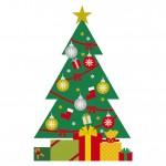 ニトリのクリスマスツリー180cm! セット内容は?
