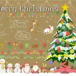子供へ贈るクリスマスカードのメッセージの例文は?